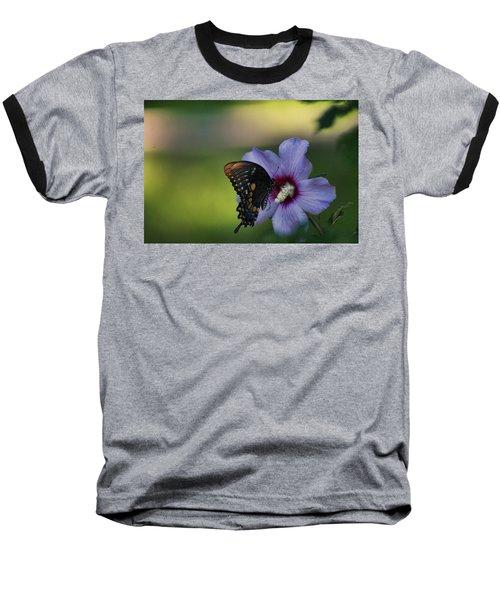 Butterfly Lunch Baseball T-Shirt