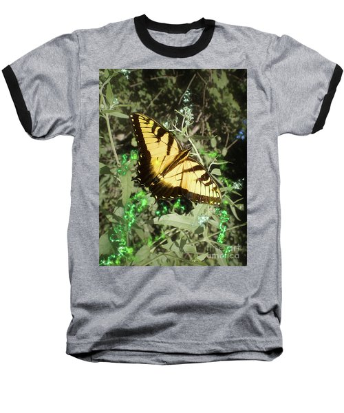 Butterfly Magic Baseball T-Shirt