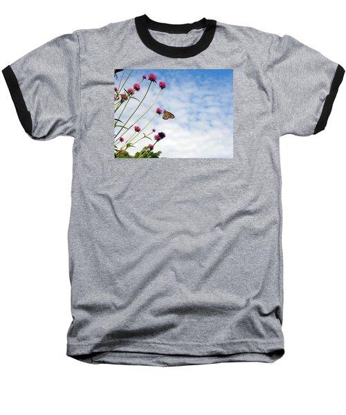 Butterfly Magic Baseball T-Shirt