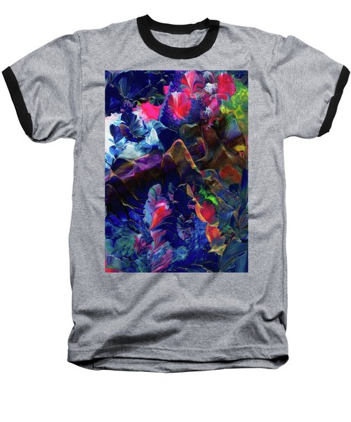 Butterfly Mountain Baseball T-Shirt