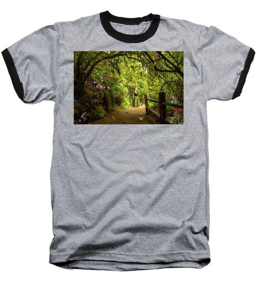 Butterfly Princess Baseball T-Shirt