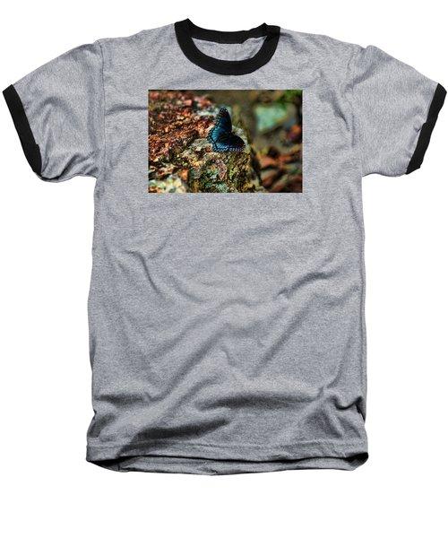 Butterfly Rock Baseball T-Shirt
