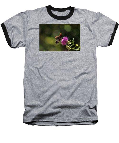 Butterfly Touch Baseball T-Shirt