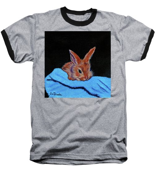 Butterscotch Bunny Baseball T-Shirt