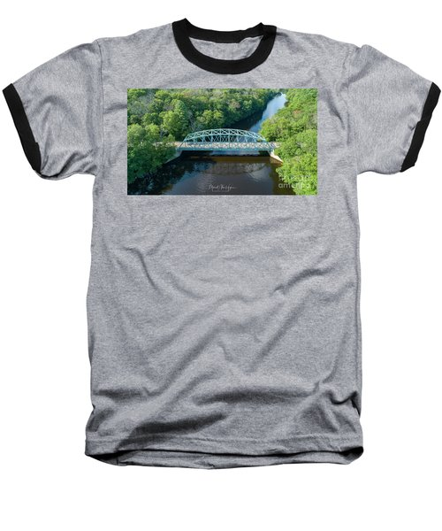 Butts Bridge Summertime Baseball T-Shirt