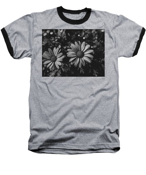 Bw Daisies Baseball T-Shirt