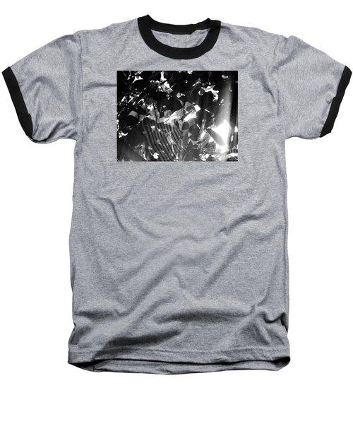 Baseball T-Shirt featuring the photograph Bw Spider Phenomena by Megan Dirsa-DuBois