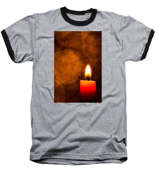 By Candle Light Baseball T-Shirt