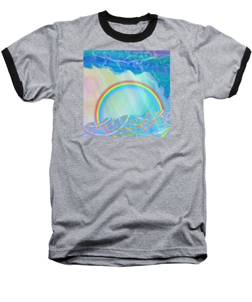 By Day And By Rain Baseball T-Shirt