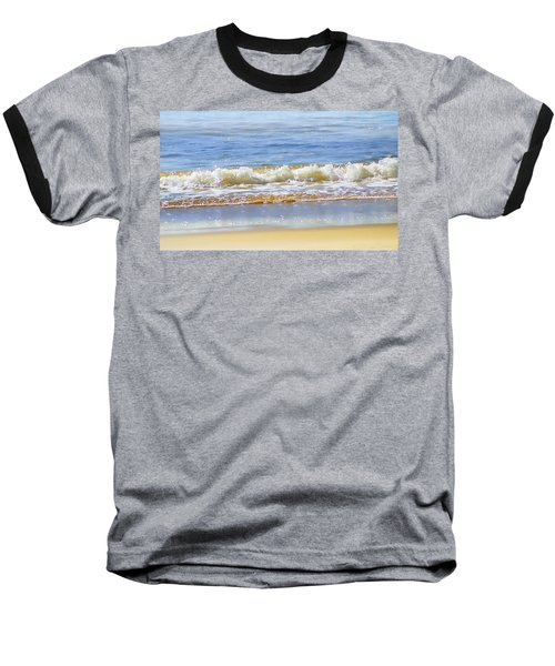 By The Coral Sea Baseball T-Shirt by Holly Kempe
