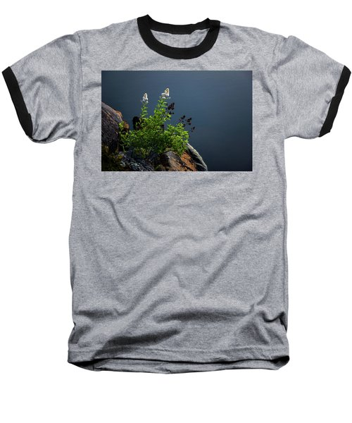 By The Edge Baseball T-Shirt by Peter Scott