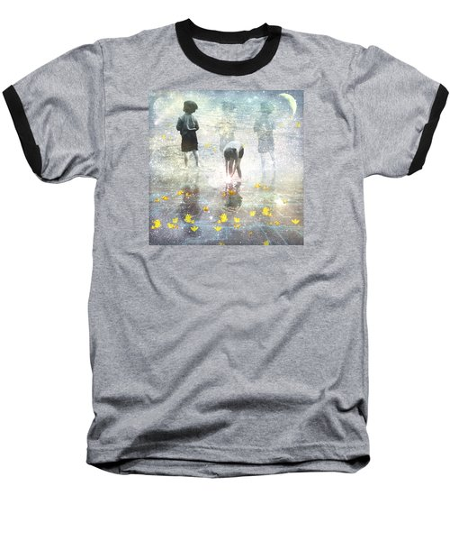 By The Light Of The Magical Moon Baseball T-Shirt
