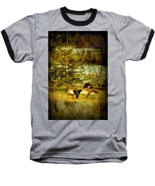 By The Little Tree - Lake Carasaljo Baseball T-Shirt