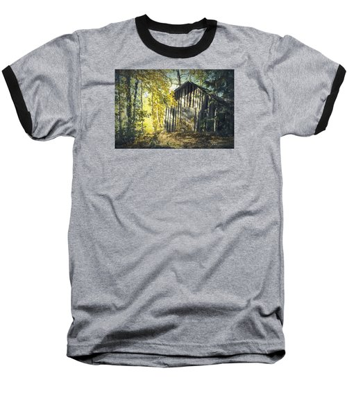 Baseball T-Shirt featuring the painting By The Old Paths by Rose-Maries Pictures