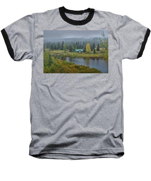 By The River Baseball T-Shirt