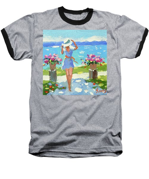 By The Sea  Baseball T-Shirt
