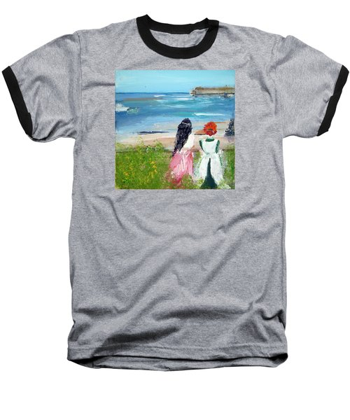 By The Shores By Colleen Ranney Baseball T-Shirt