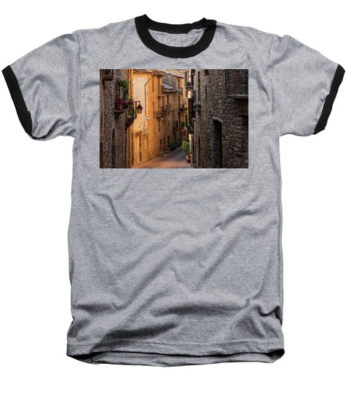 By The Town Of Ainsa In The Province Of Huesca Baseball T-Shirt