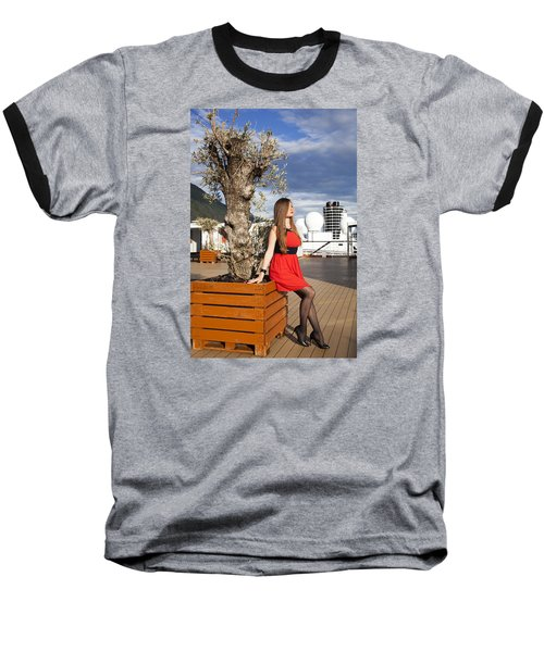 By The Tree Of Temptation Baseball T-Shirt
