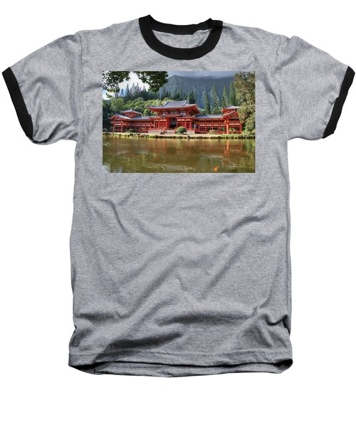 Byodo-in Baseball T-Shirt
