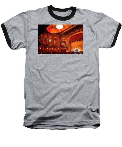 Baseball T-Shirt featuring the photograph Byrd Theatre Organist II by Jean Haynes
