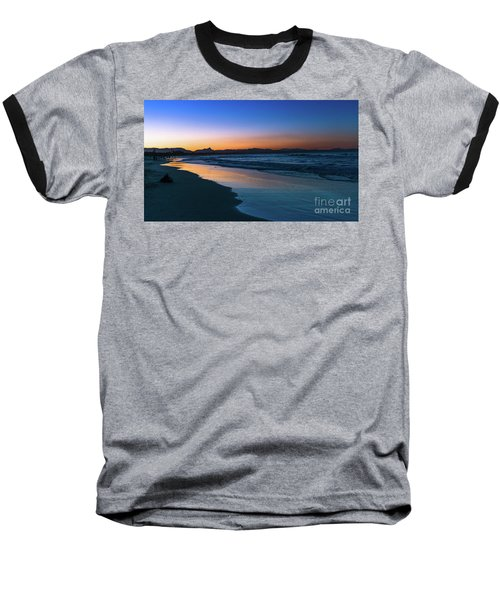 Byron Bay After The Sun Sets Baseball T-Shirt