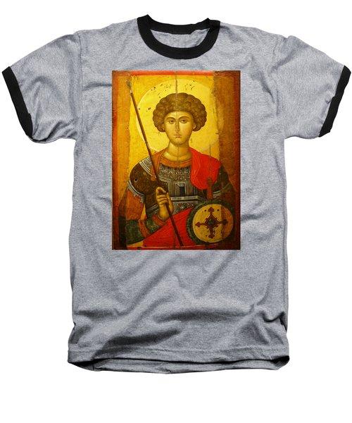 Byzantine Knight Baseball T-Shirt