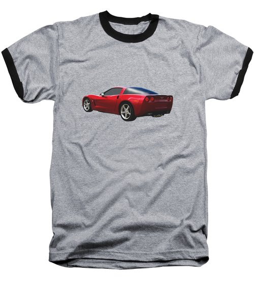 C-6 Corvette And The Cosmos Baseball T-Shirt
