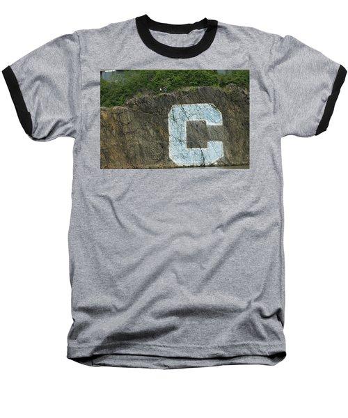 C Rock Of Columbia University Baseball T-Shirt