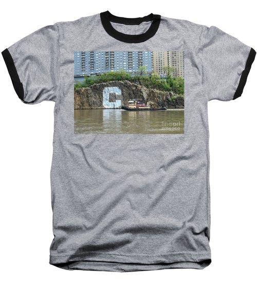 C Rock With Tug Baseball T-Shirt