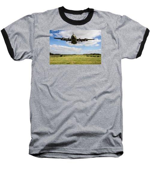 C130 Hercules Landing Baseball T-Shirt