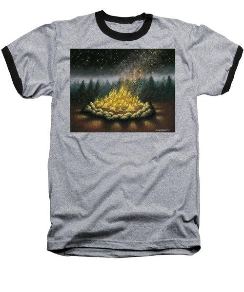 Campfire 01 Baseball T-Shirt