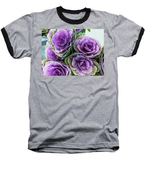 Cabbage Flower Baseball T-Shirt