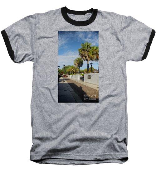 Cabbage Palms Along Hypolita Street Baseball T-Shirt