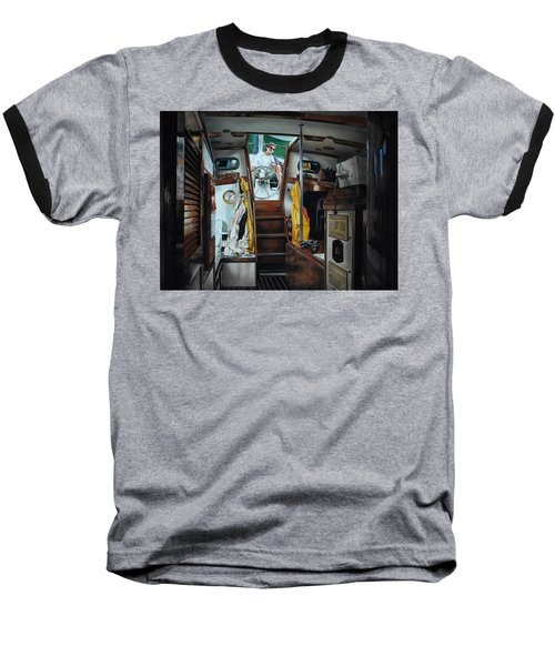 Cabin Fever Baseball T-Shirt