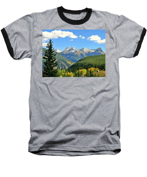 Cabin In The San Juans Baseball T-Shirt