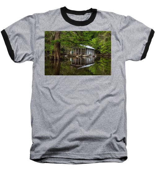 Cabin On The Lake Baseball T-Shirt
