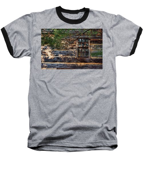 Cabin Window Baseball T-Shirt