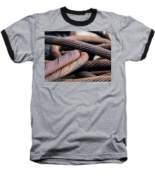 Cable Chaos Baseball T-Shirt