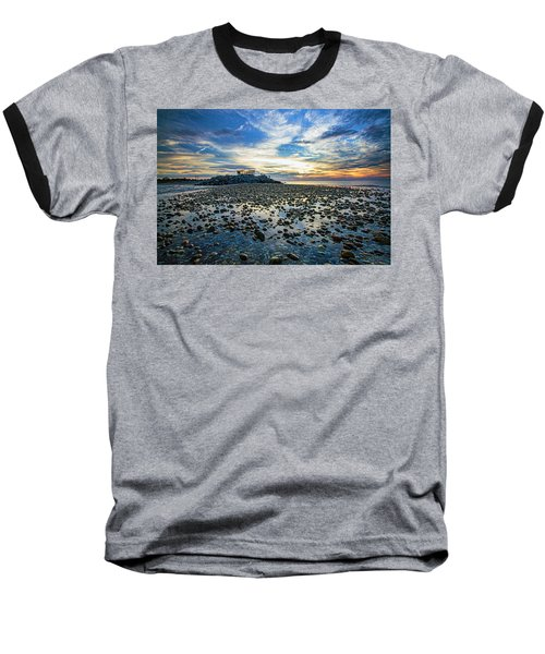 Cable Crossing Orient Point Sunset Baseball T-Shirt