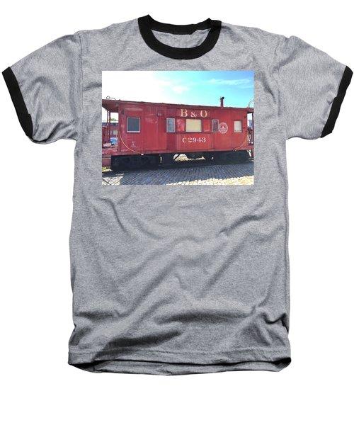 Caboose Baseball T-Shirt