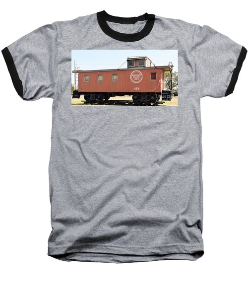 Baseball T-Shirt featuring the photograph Caboose by Ray Shrewsberry