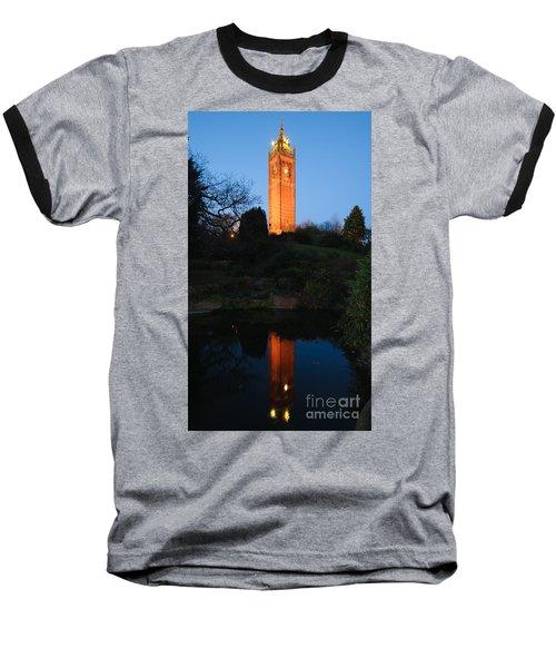 Cabot Tower, Bristol Baseball T-Shirt