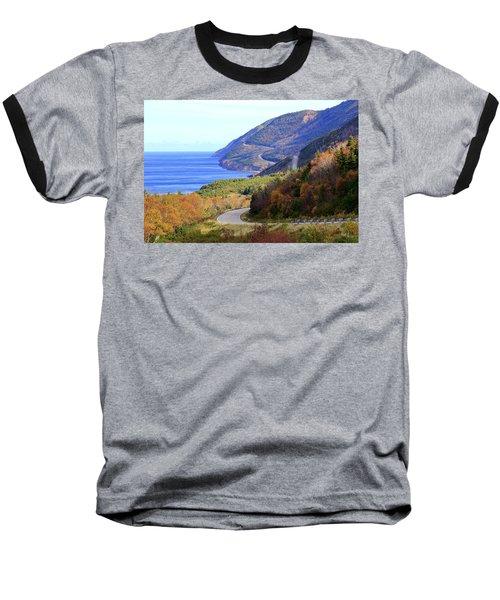 Cabot Trail, Cape Breton, Nova Scotia Baseball T-Shirt