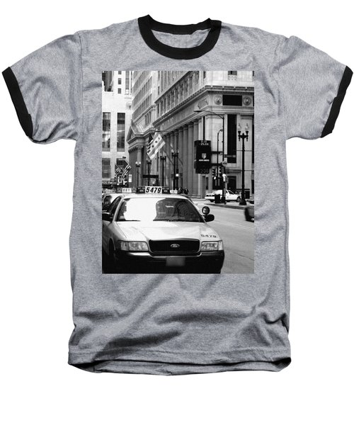 Cabs In The City Baseball T-Shirt