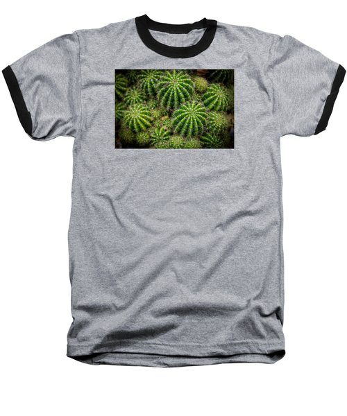 Baseball T-Shirt featuring the photograph Cacti by Keith Hawley