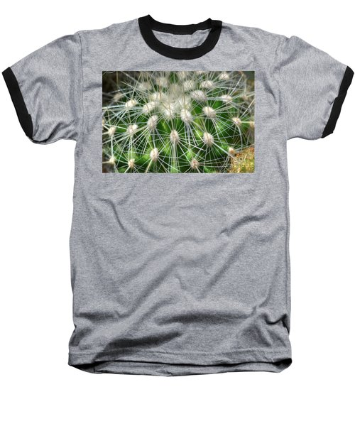 Cactus 1 Baseball T-Shirt by Jim and Emily Bush