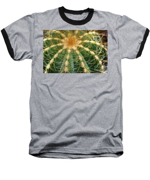 Cactus 2 Baseball T-Shirt by Jim and Emily Bush