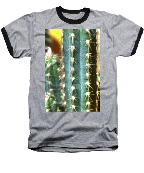 Cactus 3 Baseball T-Shirt by Jim and Emily Bush
