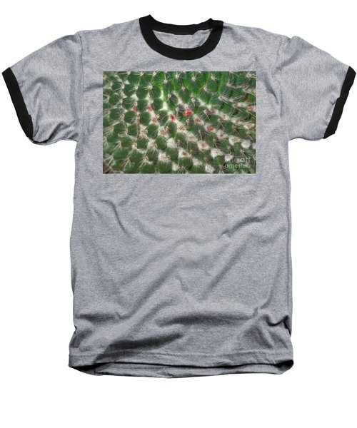 Cactus 5 Baseball T-Shirt by Jim and Emily Bush